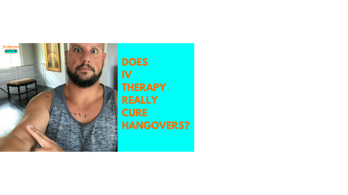 Does IV therapy really cure hangovers?